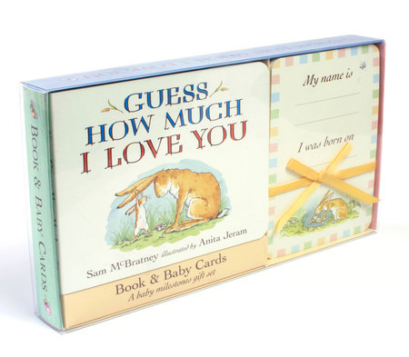 Guess How Much I Love You: Baby Milestone Moments: Board Book and Cards Gift Set