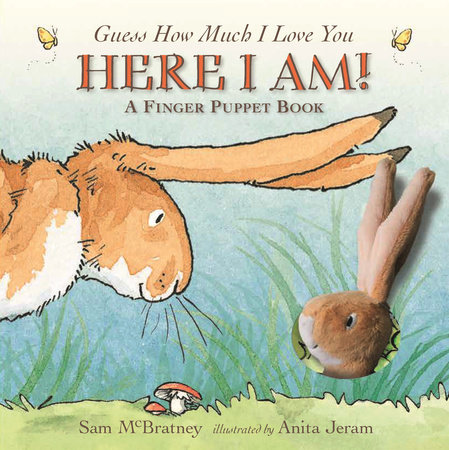 Here I Am!: A Finger Puppet Book by Sam McBratney
