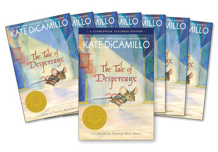 The Tale of Despereaux Classroom Set with Teachers Edition by Kate DiCamillo