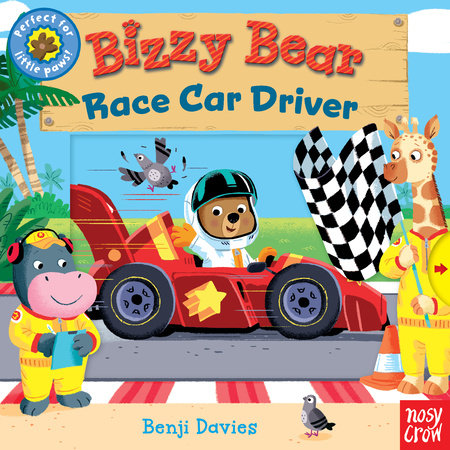 Bizzy Bear: Race Car Driver by Nosy Crow