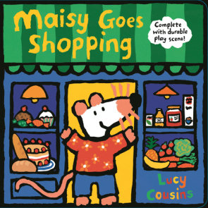 Maisy Goes Shopping: Complete with Durable Play Scene