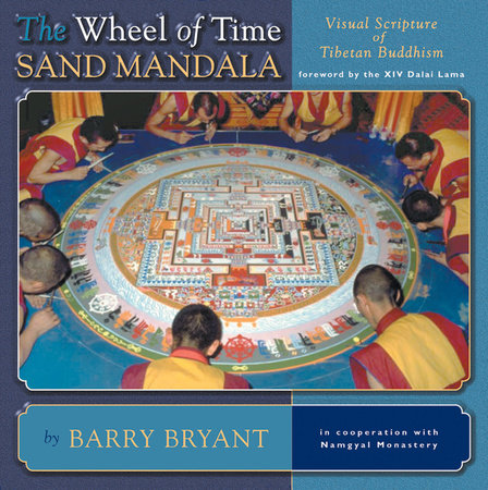 The Wheel of Time Sand Mandala by Barry Bryant