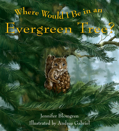 Where Would I Be in an Evergreen Tree? by Jennifer Blomgren