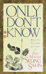 Only Don't Know