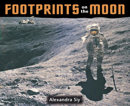 Footprints on the Moon by Alexandra Siy