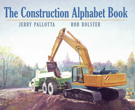 The Construction Alphabet Book by Jerry Pallotta