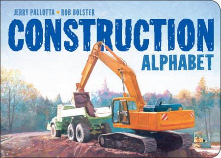 Construction Alphabet by Jerry Pallotta
