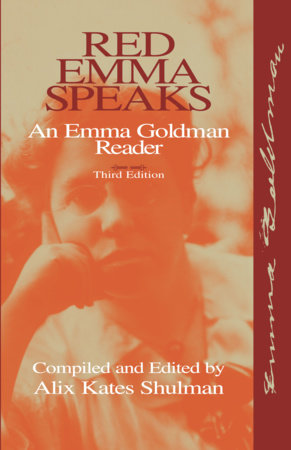 Red Emma Speaks by Emma Goldman