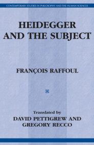 Heidegger and the Subject