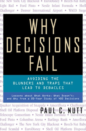 Why Decisions Fail