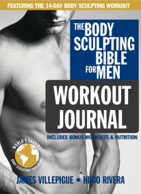 The Body Sculpting Bible for Men Workout Journal