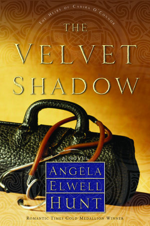 The Velvet Shadow by Angela Elwell Hunt