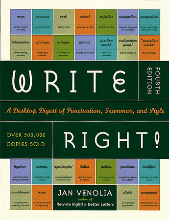 The cover of the book Write Right!