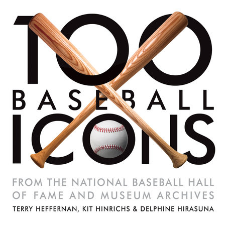100 Baseball Icons Book Cover Picture