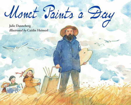 Monet Paints a Day Book Cover Picture