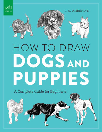 How to Draw Dogs and Puppies by J.C. Amberlyn