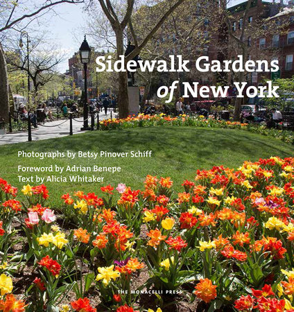Sidewalk Gardens of New York by Betsy Pinover Schiff and Alicia Whitaker