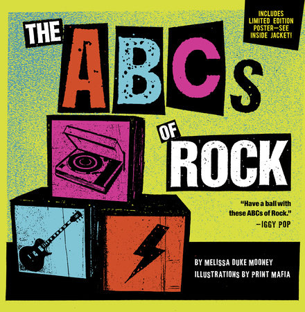The ABCs of Rock by Melissa Duke Mooney