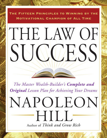 The Law Of Success By Napoleon Hill Penguinrandomhouse