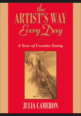 The cover of the book The Artist's Way Every Day