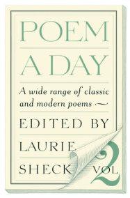 Poem a Day: Vol. 2