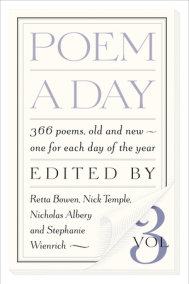 Poem a Day: Vol. 3