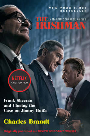 The cover of the book The Irishman