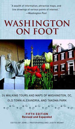 Washington on Foot, Fifth Edition by