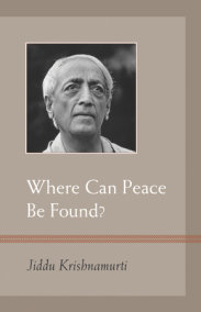 Where Can Peace Be Found?