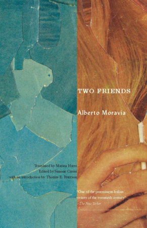 Two Friends by Alberto Moravia