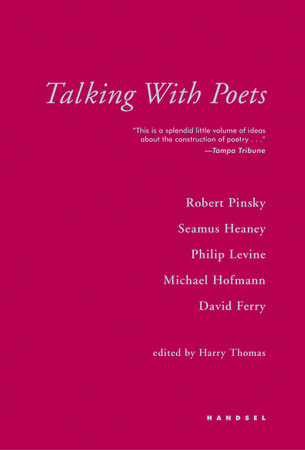 Talking With Poets by Harry Thomas