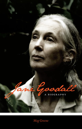 Jane Goodall by Meg Greene