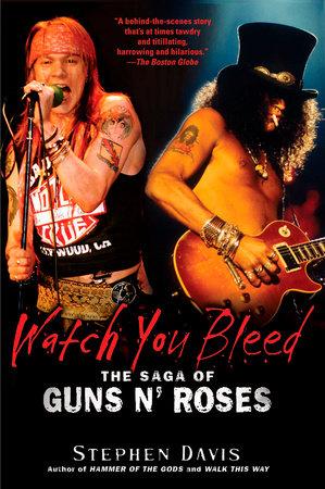Watch You Bleed by Stephen Davis