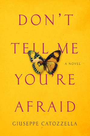 Don't Tell Me You're Afraid Book Cover Picture