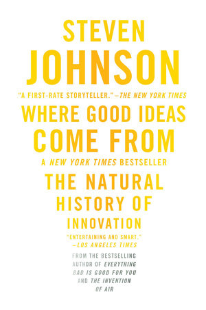 Where Good Ideas Come From Book Cover Picture