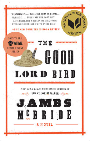 The cover of the book The Good Lord Bird