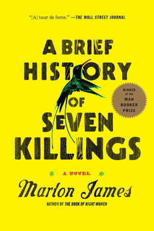 The cover of the book A Brief History of Seven Killings