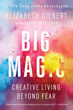 The cover of the book Big Magic