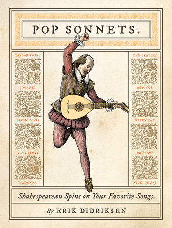 Pop Sonnets by Erik Didriksen