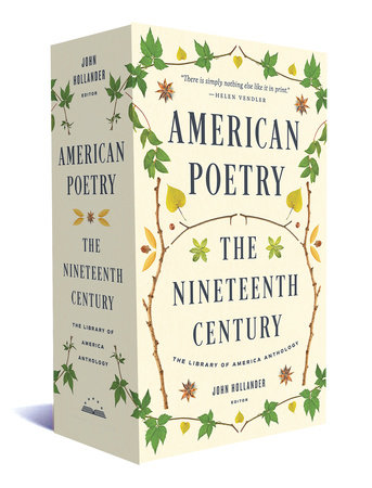 American Poetry: The Nineteenth Century by