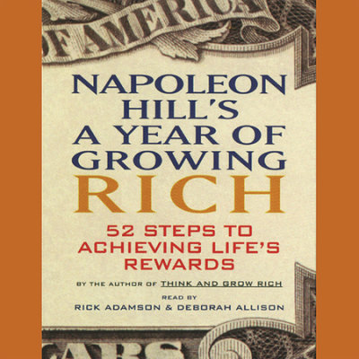 Napoleon Hill's A Year of Growing Rich cover