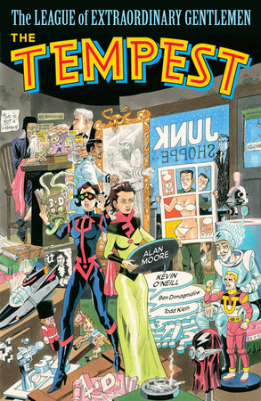 The League of Extraordinary Gentlemen (Vol IV): The Tempest by Alan Moore