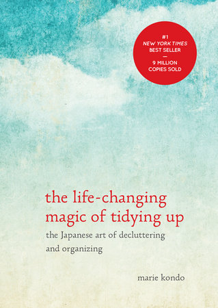 The cover of the book The Life-Changing Magic of Tidying Up