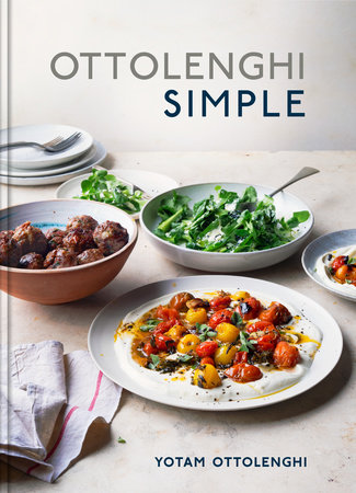The cover of the book Ottolenghi Simple