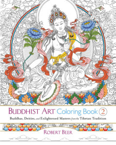 Buddhist Art Coloring Book 2