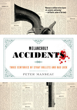 Melancholy Accidents Book Cover Picture