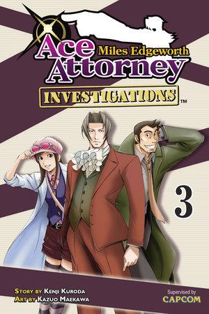 Miles Edgeworth: Ace Attorney Investigations 3 by Kenji Kuroda