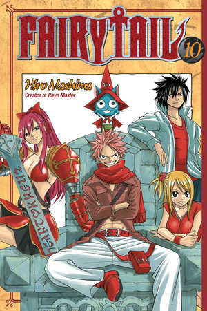 FAIRY TAIL 10 by Hiro Mashima