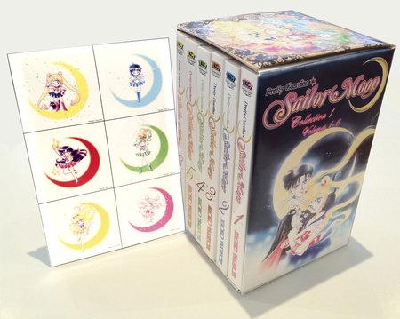 Sailor Moon Box Set (Vol. 1-6) by Naoko Takeuchi