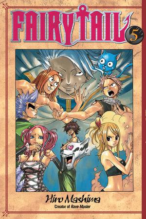 Fairy Tail 5 by Hiro Mashima